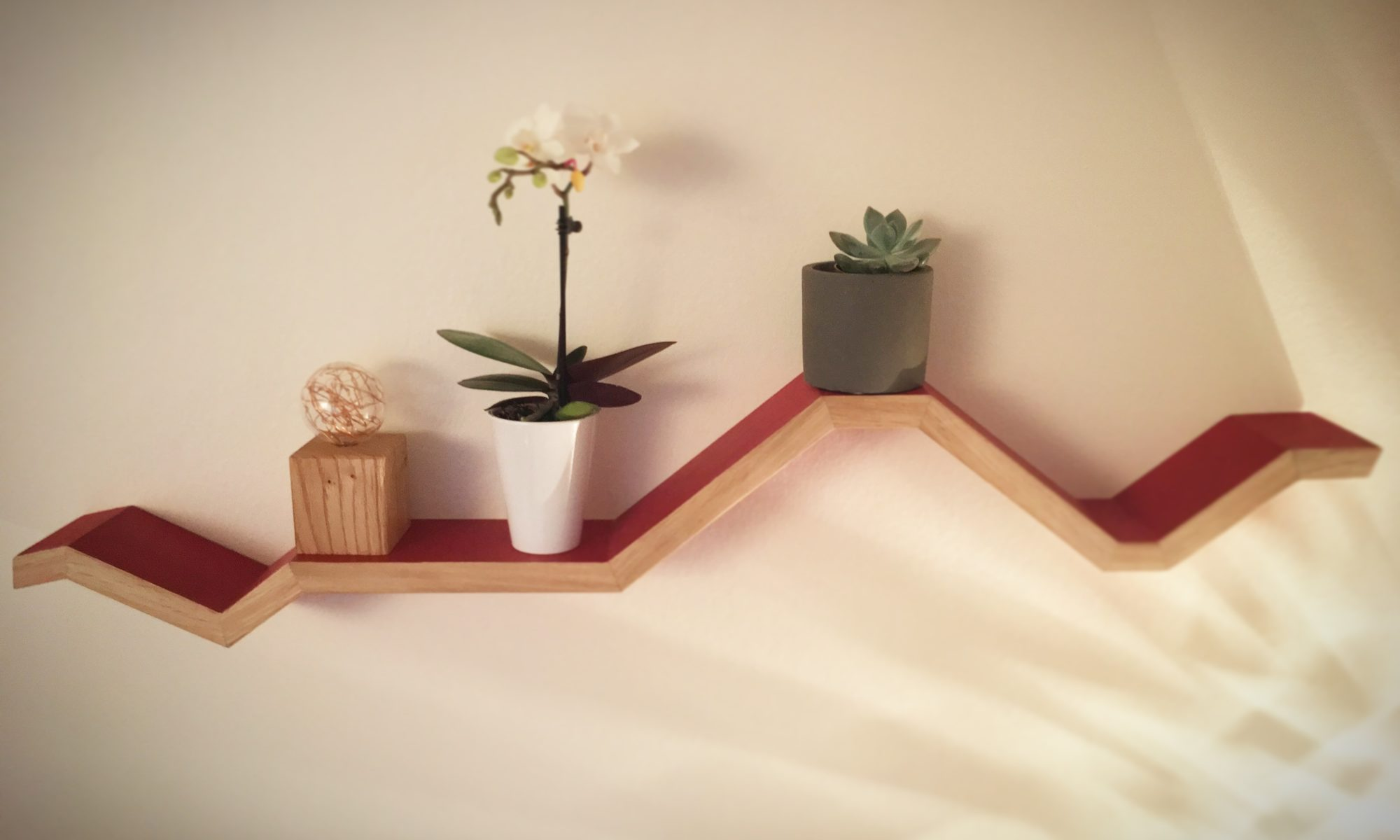 Étagère bois design